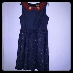 Lindy Bop Kingfisher dress Sz 12(US)